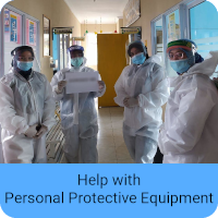 Help with Personal Protective Equipment